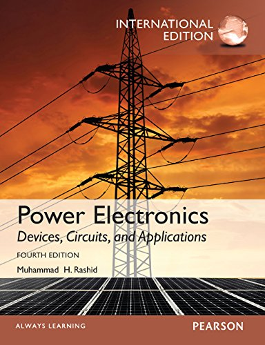 Power Electronics: Devices, Circuits, and Applications, International Edition, 4/e (English Edition)