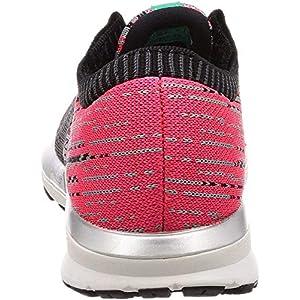 Brooks Womens Ricochet Running Shoe - Pink/Black/Aqua - B - 8.5