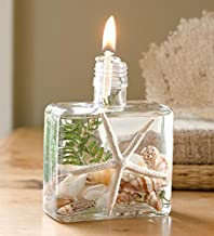Wind & Weather Square Seashell Lifetime Oil Candle