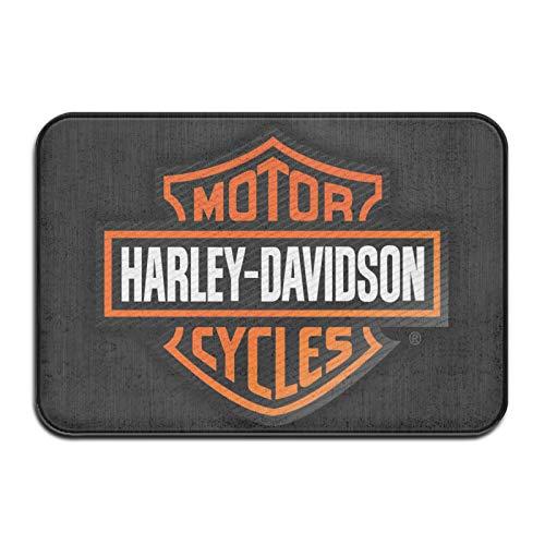 Zerbino lavabile antiscivolo Harley Davidson,Tappetino porta esterno,Tappeto ingresso corridoio cucina