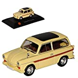 Atlas Trabant P60 Camping Kombi Beige DDR 1/43 Modell Auto