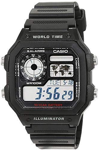 Casio Collection Herren-Armbanduhr AE 1200WH 1AVEF