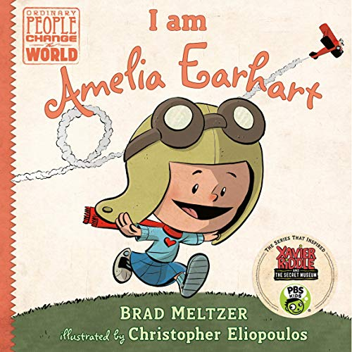 Couverture de I Am Amelia Earhart