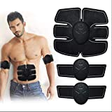Abs Trainer,EMS Muscle Stimulator,Home Gym Belt,Abdominal Muscle Toner Training Gear ABS Fit Weight