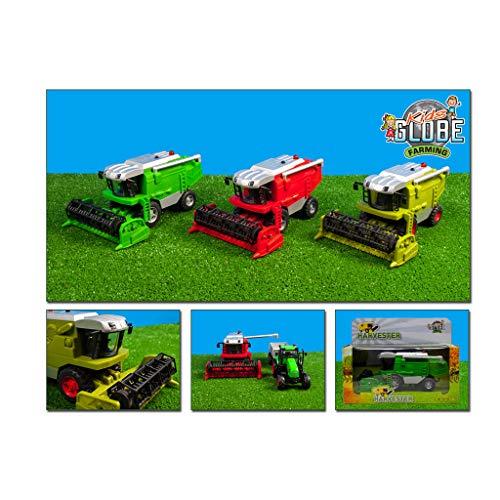 Van Manen Kids Globe Farming Combine Try Me (1:50, Mähdrescher mit Licht & Sound) - 510696