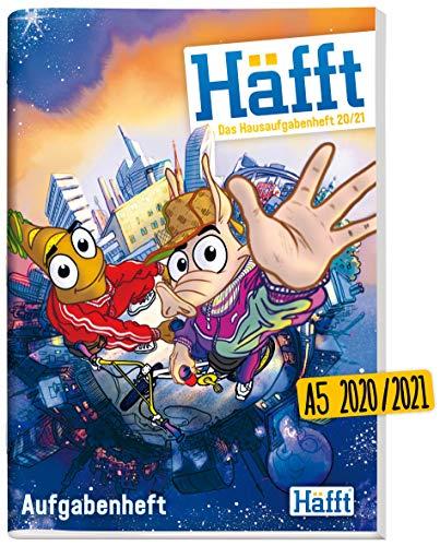 Häfft Original - Das Hausaufgabenheft 2020/2021 A5 [City Life] ultimativer Schülerkalender, Schülerplaner | nachhaltig & klimaneutral
