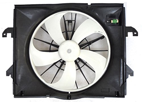 Dual Radiator and Condenser Fan Assembly - Cooling Direct For/Fit CH3115164 09-12 Dodge RAM Pickup 3.7L V6 (Exclude Megacab)