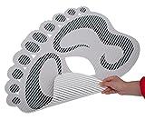 Antirutsch-Duschmatte'Footprint' Duschvorleger, Badematte, Weichschaummatte, Bodenmatte sicherer...