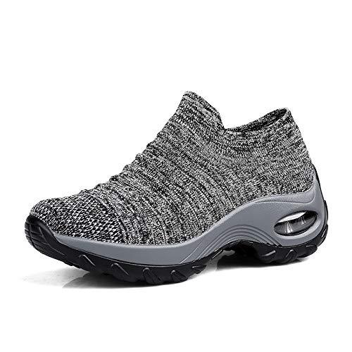 Wandelschoenen voor Dames,Aantrekken Lichtgewicht en Comfortabele Sneakers