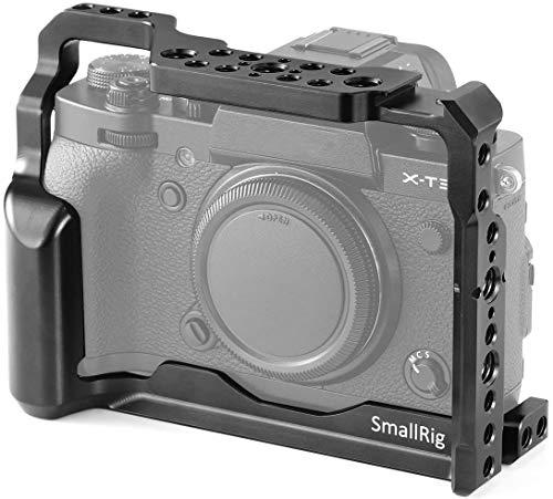 SMALLRIG X-T3 / X-T2 Cage Compatibile con Fujifilm X-T3 /X-T2, Gabbia con la NATO Rail sul Lato Sinistro - 2228