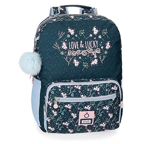 Enso Love and Lucky Mochila 42 cm adaptable a carro
