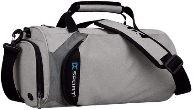 Freizeit Große Kapazität Eine Schulter Tragbare Reisetasche Mode Sport Trocken-Nass-Trennung Fitness Yoga Tasche Hellgrau Große Größe Klassische Sporttaschen B07MMDY2SD  Angemessene Lieferung und pünktliche Lieferung