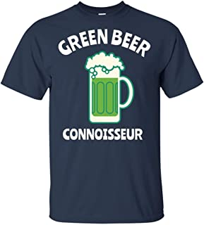 LeetGroupAU Green Beer Connoisseur ST Patrick's Day T-Shirt