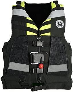 Mustang Survival Water Rescue Vest, YLW/Blk, Cordura, Univ