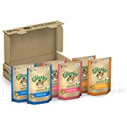 FELINE GREENIES 3-Flavor Variety Pack Dental Treats for Cats 15 Ounces (Pack of 6)