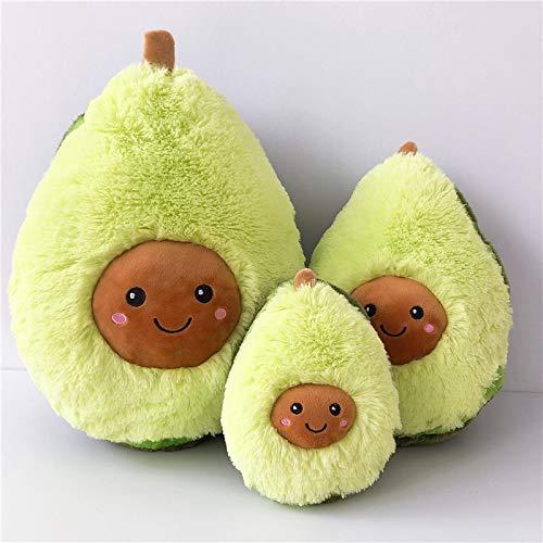 3StksPokemonKnuffel Comfortabele Avocado Zacht KussenKawaiiCartoon Vruchten Sussen Meisjes Babypop Speelgoed