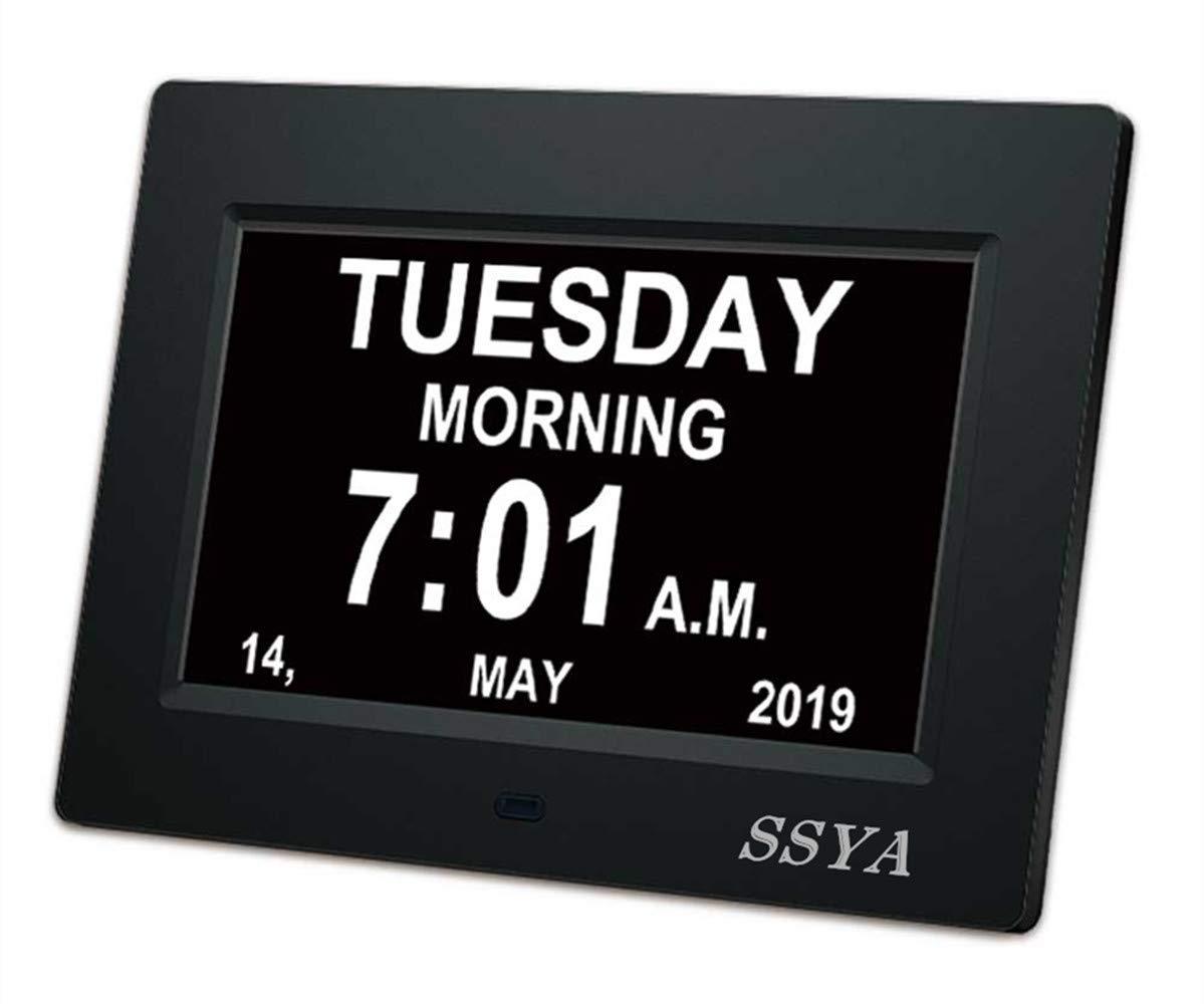 SSYA Newest Version Clock Non Abbreviated