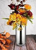 IMEEA® - Centro de centro decorativo para el hogar o la boda SUS304 de acero...