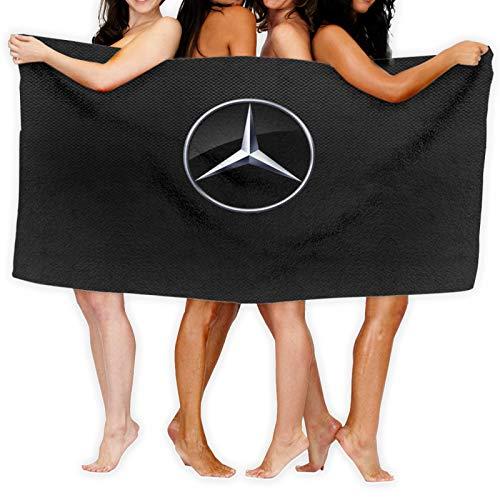 Telo da spiaggia per bambini Mercedes Benz, ultra morbido, in cotone super assorbente,...