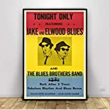nobrand Poster Blues Brothers Vintage Film Tv Serie