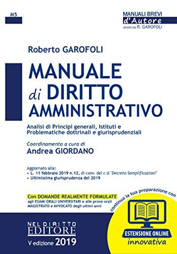 Manuale di Diritto Amministrativo: M5