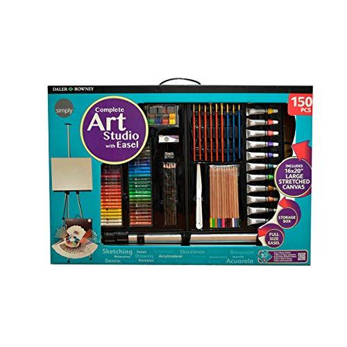 Art Easel Studio - Juego de 163 piezas