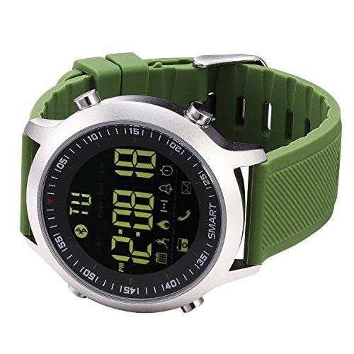 KXCD - Orologio intelligente per iPhone e Android, colore: Verde