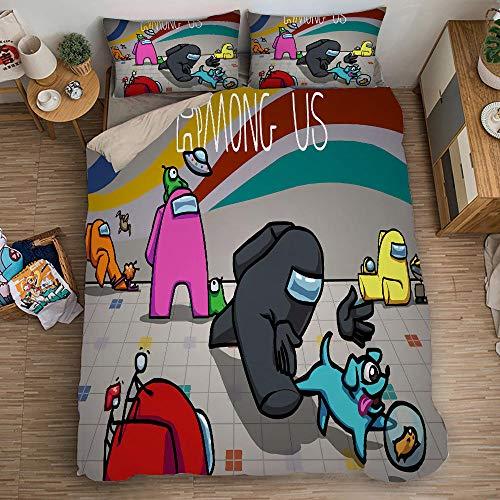 Bedclothes-Blanket Juego de sabanas Cama 90 Juveniles,Ropa de Cama de impresión Digital 3D-17_200x200