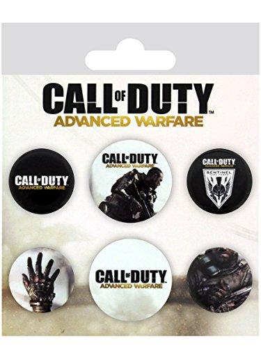 GB Eye Call of Duty Advanced Warfare Mix Badge Pack, Mehrfarbig