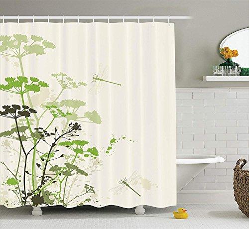 cortinas de baño libelulas