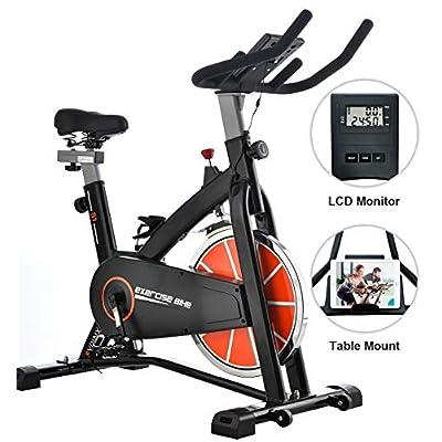 SYRINX Indoor Cycling Bike-Belt Drive Indoor Exercise Bike