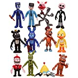 Max Fun Freddy's Action Figures Toys Cake Toppers Play Set Gifts