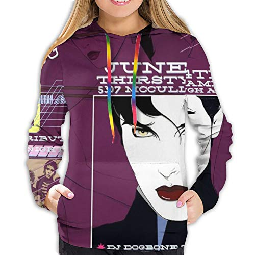 Fangner Duran Duran Women Sweatshirts Autumn Winter Leisure Hoodie Black