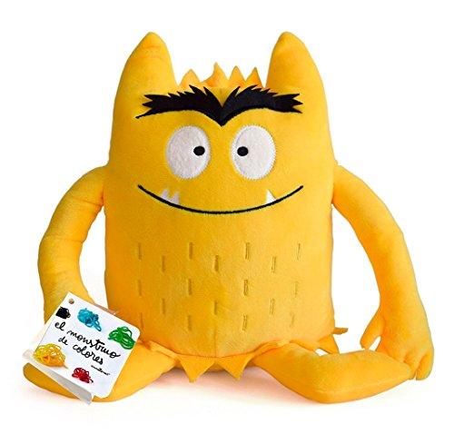 El monstruo de colores. Peluche amarillo