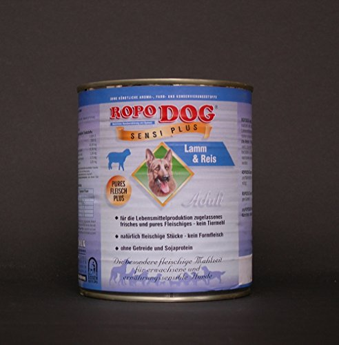 RopoDog 30 Dosen à 800 gr Adult Sensi Plus Lamm + Reis