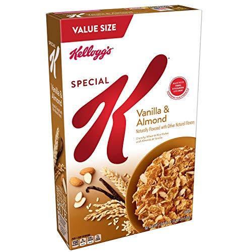 Special K Cereal Vanilla Almond, 18.8 oz