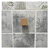 GuanRo 5 Estilos Papel higiénico Toalla Dispensador de Madera Rollo de Papel para baño Contacto Portátil Partidor de Papel Rack de Almacenamiento doméstico (Color : Accessories Square)