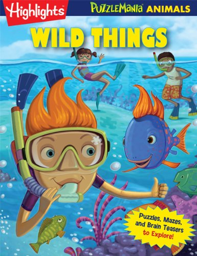 Wild Things: Puzzlemania® Animals