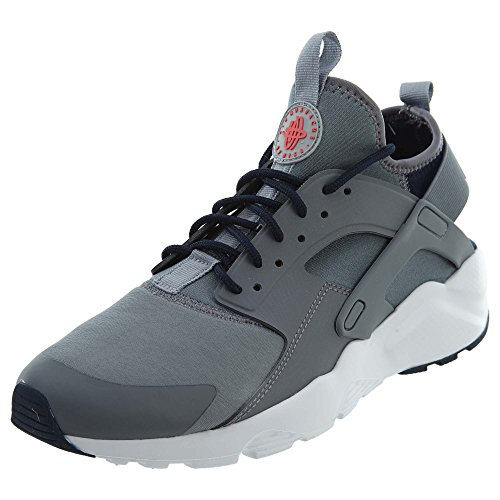 Nike Men's Air Huarache Run Ultra Cool Grey/Wolf Grey/Obsidian Running Shoe 9 Men US