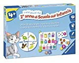 Ravensburger 24077 I Miei Giochi del Secondo Anno di Scuola dell'Infanzia, Gioco Educativo, 20 attività Educative per Bambini, età Consigliata 4+