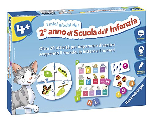 Ravensburger Italy-I Miei Giochi del Secondo Anno di Scuola dell'Infanzia, 24077 7