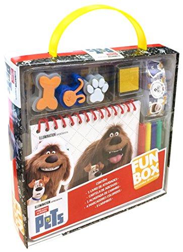 Universal. Pets - Caixa. Coleção Fun Box