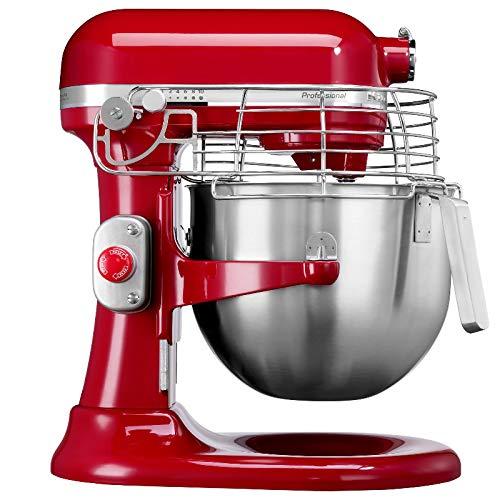 KitchenAid KEF97AV Batedeira Stand Mixer Profissional, Empire Red, 7.6L