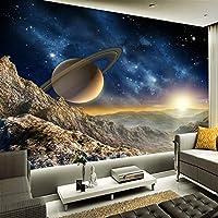 カスタム3D写真壁紙スペース宇宙背景家の装飾壁画リビングルームテレビ壁画-400x300cm