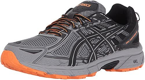 ASICS Men s Gel Venture 6 Running Shoe Frost Grey Phantom Black 11 D M US product image