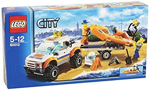 Lego City 60012 - Küstenwachenfahrzeug mit Schlauchboot