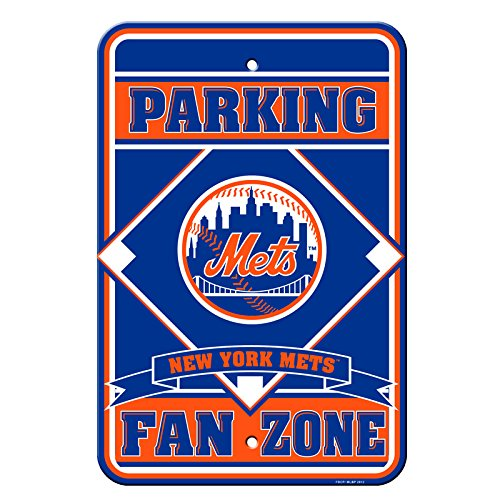 SHEA STADIUM PARKING with 2008 logo Parking Sign