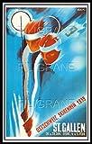 PostersAndCoTM St Gallen Ski 1939 Rnqu-Poster/Kunstdruck 40