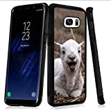 Samsung Galaxy S7 Case Goat PC and TPU Shockproof Slim Anti-Scratch Protective Dual Layer Rugged Case Non-Slip Grip Case for Samsung Galaxy S7