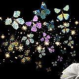 Herefun Mariposa Voladora, Banda de Goma Mariposa, Mariposa Voladora Mágica, Regalo Sorpresa Mariposa Adecuado para Regalos de Cumpleaños, Educación Infantil, Regalos Sorpresa (20pcs)